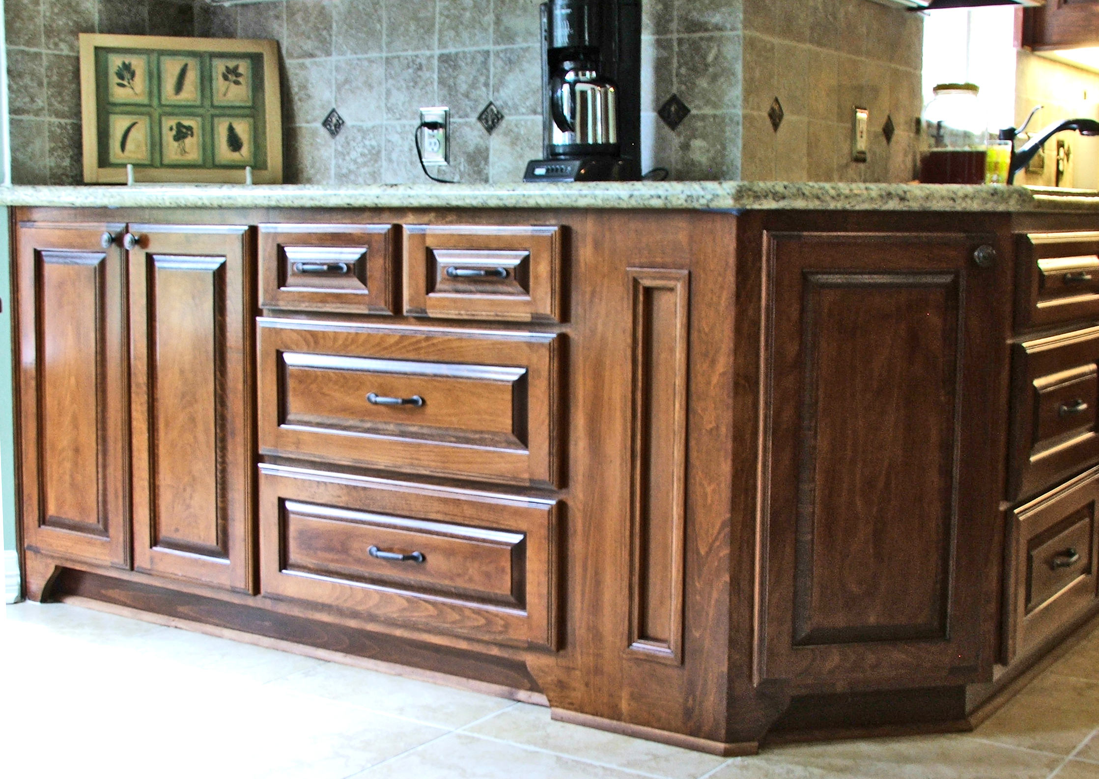 Beech kitchen cabinets 055 | RVA Choice Kitchen & Bath