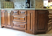Beech kitchen cabinets 055