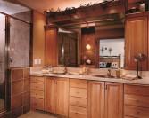 Bath_P42_LancasterSqCherryPraline_KitchenCompanyMI